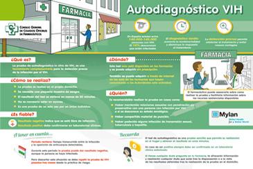 Imagen de El Consejo General de Farmacéuticos promueve la formación e información sobre las pruebas de autodiagnóstico del VIH