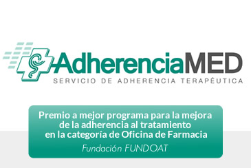 Logo AdherenciaMED - Servicio de Adherencia Terapéutica